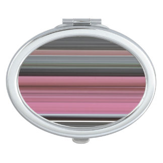 Abstract #1: Pink and grey Makeup Mirror