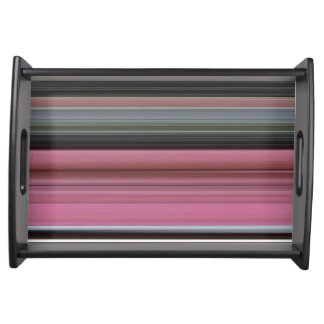 Abstract #1: Pink and grey Serving Tray