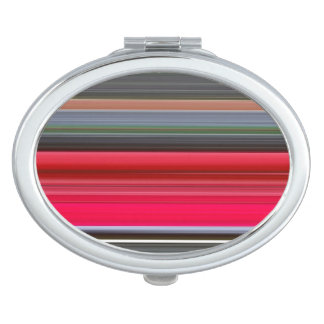 Abstract #1: Red and Grey Compact Mirror
