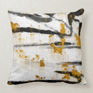 Abstract 2014-1 Throw Pillow