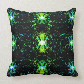 Abstract 20 throw pillow