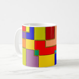 Abstract #26 coffee mug