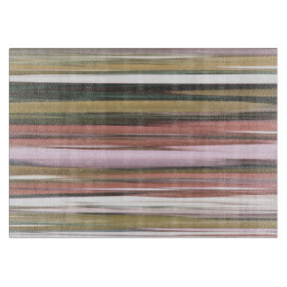 Abstract #2: Autumn Fall colors blur Cutting Board