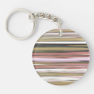 Abstract #2: Autumn Fall colors blur Keychain