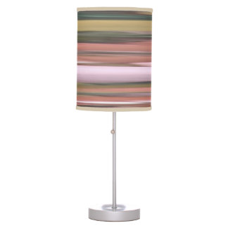 Abstract #2: Autumn Fall colors blur Table Lamp