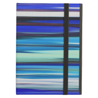 Abstract #2: Blue blur Cover For iPad Air
