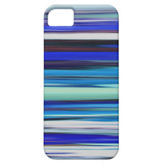 Abstract #2: Blue blur iPhone 5 Case