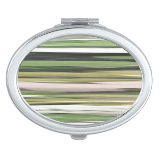 Abstract #2: Olive green blur Mirror For Makeup