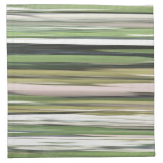 Abstract #2: Olive green blur Napkin