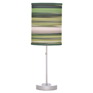Abstract #2: Olive green blur Table Lamp