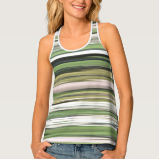 Abstract #2: Olive green blur Tank Top