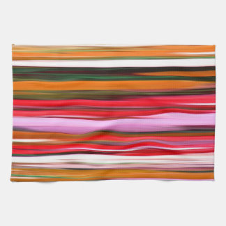 Abstract #2: Orange blur Kitchen Towel