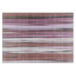 Abstract #2: Pink blur Cutting Board