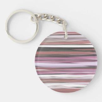 Abstract #2: Pink blur Keychain