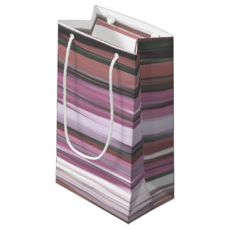 Abstract #2: Pink blur Small Gift Bag