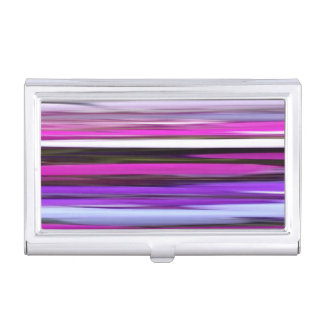 Abstract #2: Purple Blur Business Card Holder