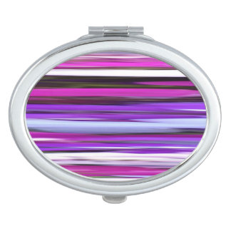 Abstract #2: Purple Blur Compact Mirror