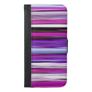 Abstract #2: Purple Blur iPhone 6/6s Plus Wallet Case