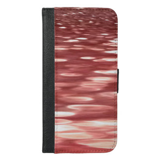 Abstract #2: Red blur iPhone 6/6s Plus Wallet Case