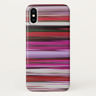 Abstract #2: Red blur iPhone X Case