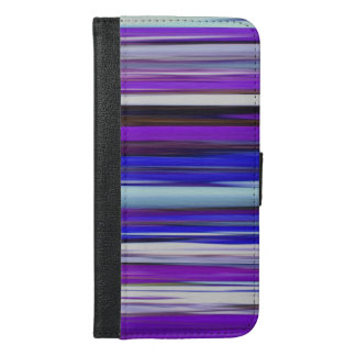 Abstract #2: Ultraviolet blur iPhone 6/6s Plus Wallet Case