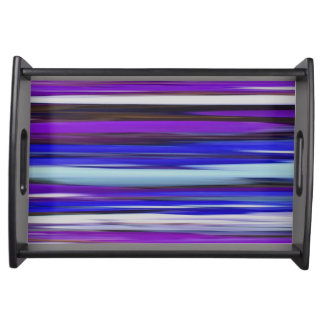 Abstract #2: Ultraviolet blur Serving Tray