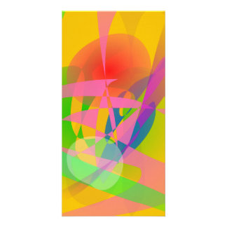 Abstract 2D Photo Card