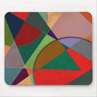 Abstract #327 Listening To Joni Mitchell Mouse Pad