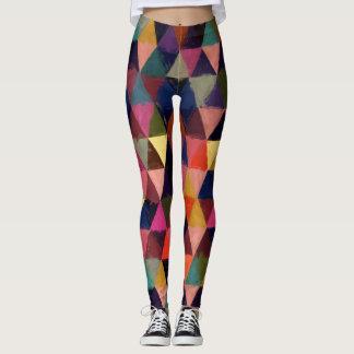 Abstract #374 leggings