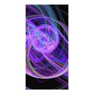 Abstract 39 custom photo card
