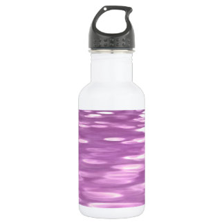 Abstract #3: Lilac Shimmer 532 Ml Water Bottle