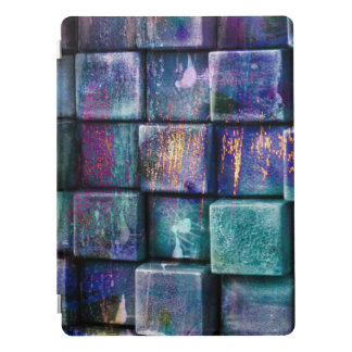 Abstract 3D Glass Stones Cover iPad Pro Cover
