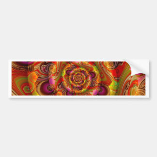 abstract 3d no. 1 created by Tutti Bumper Sticker