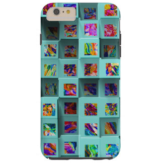 Abstract 3D Shelf Effect. Three Dimensional iPhone Tough iPhone 6 Plus Case