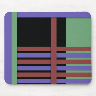 Abstract #407 mouse pad