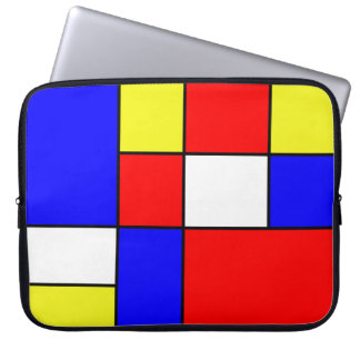 Abstract #414 laptop sleeve
