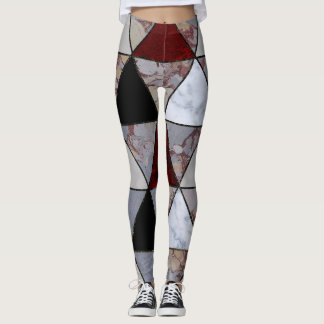 Abstract #450 leggings