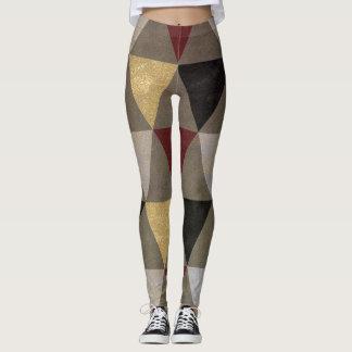 Abstract #476 leggings