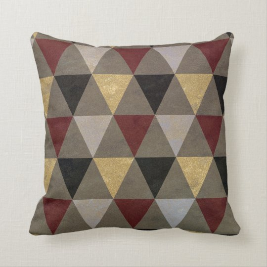 Abstract #476 throw pillow