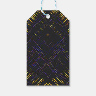 Abstract 47 pack of gift tags