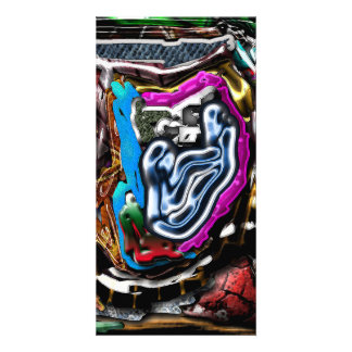 Abstract 47 picture card