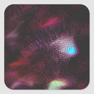 Abstract 4829 square sticker