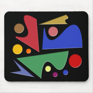 Abstract #484 mouse pad