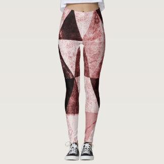 Abstract #490 leggings