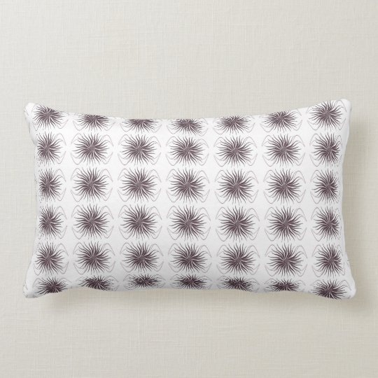 Abstract 4 lumbar pillow