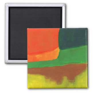 Abstract #4 refrigerator magnets