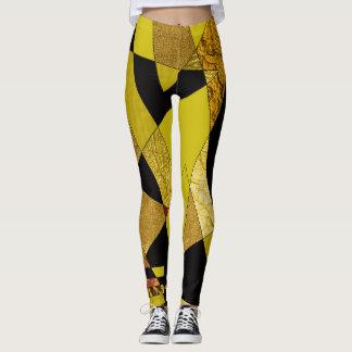 Abstract #508 leggings