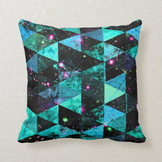 Abstract #509 throw pillow