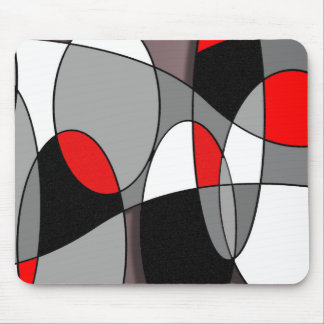 Abstract #53 mouse pad