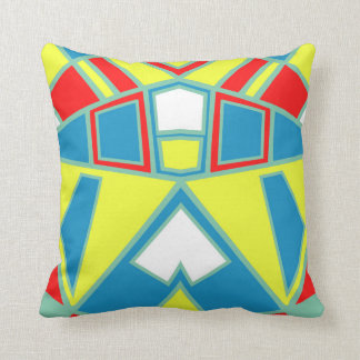 Abstract #571 throw pillow